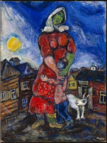 Untitled-(Woman Hugging Her Child)