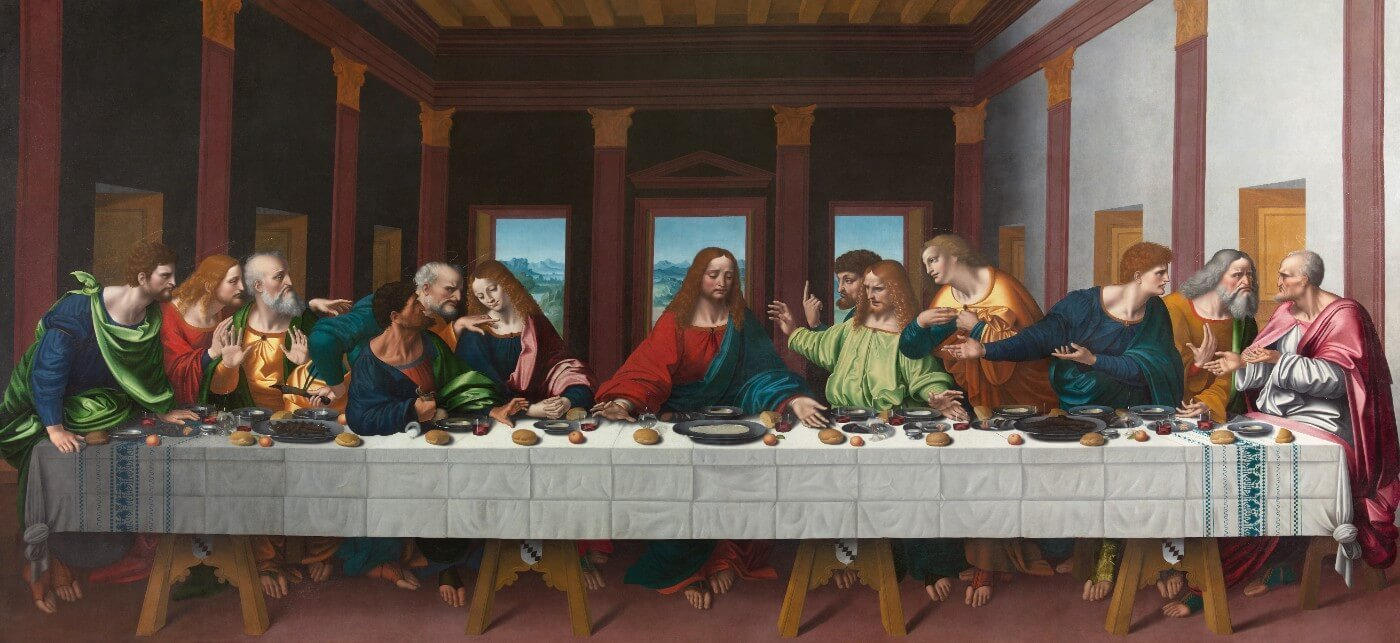 The Last Supper 1506 Canvas Prints By Marco Doggiono Buy