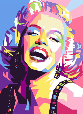 Marilyn Monroe - Pop Art Painting