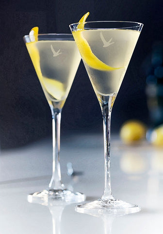 Grey Goose Martini With Lemon Slice