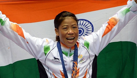Mary Kom -  Woman Boxing Champion by Christopher Noel