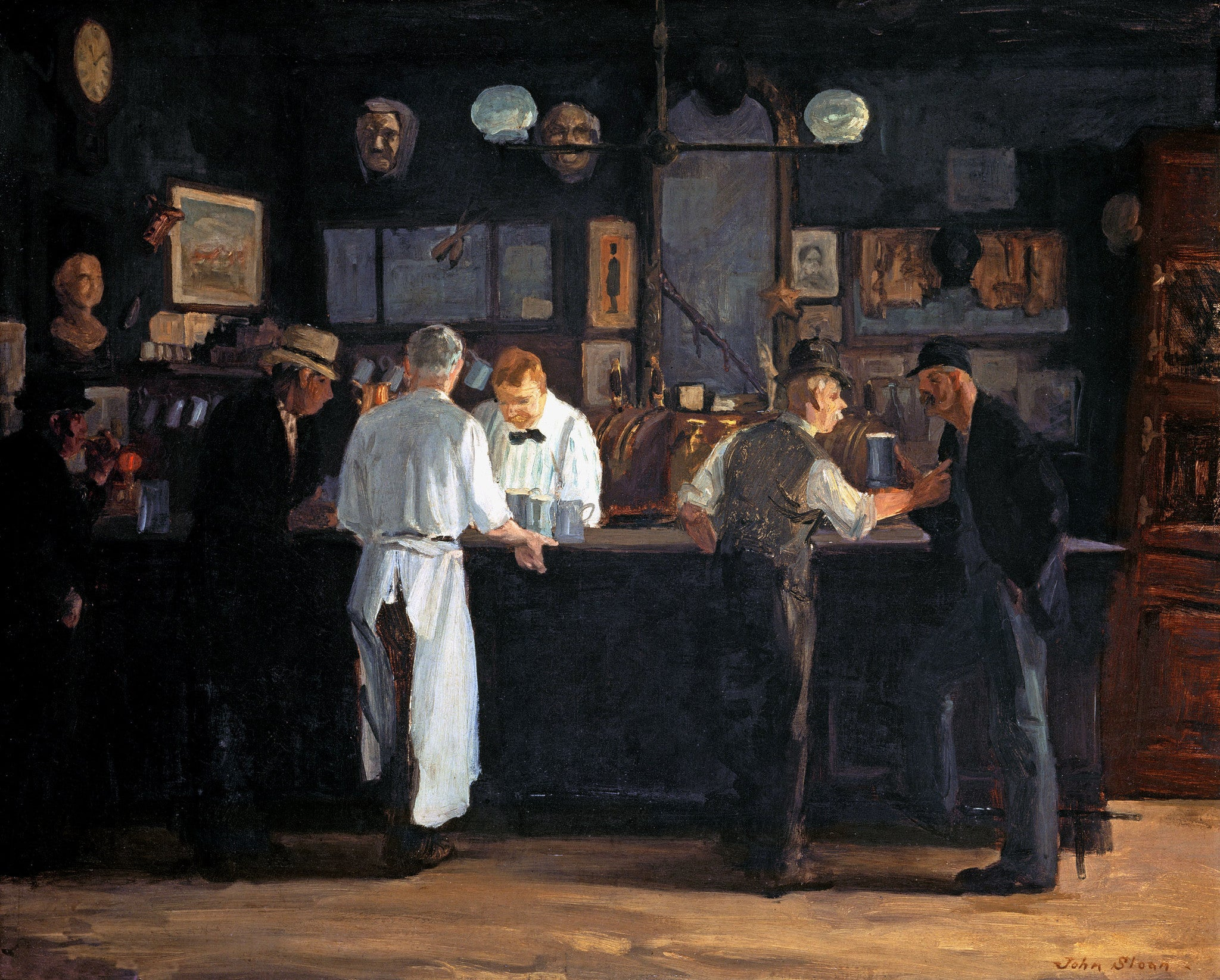 John French Sloan | Buy Posters, Frames, Canvas, Digital Art & Large Size Prints Of The Famous Modern Master's Artworks