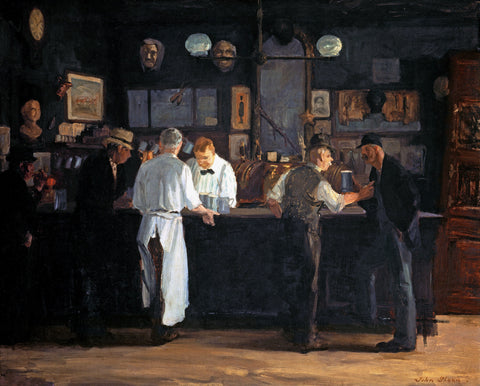 McSorleys Bar by John French Sloan