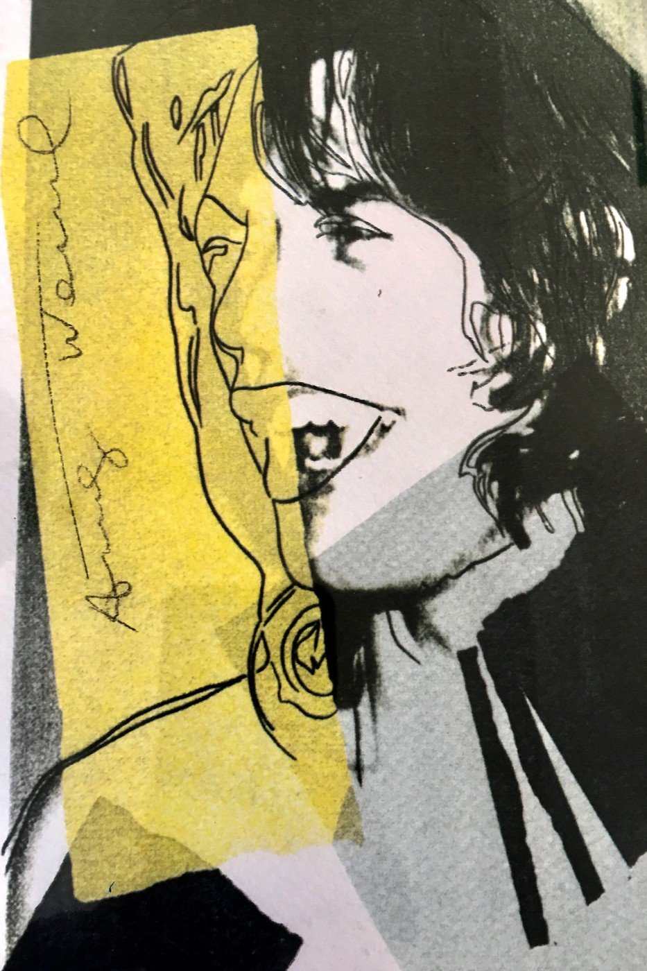 Mick Jagger - V - Canvas Prints by Andy Warhol | Buy Posters, Frames ...