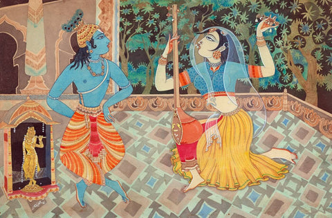 Mirabai Sings to Lord Krishna - S Rajam
