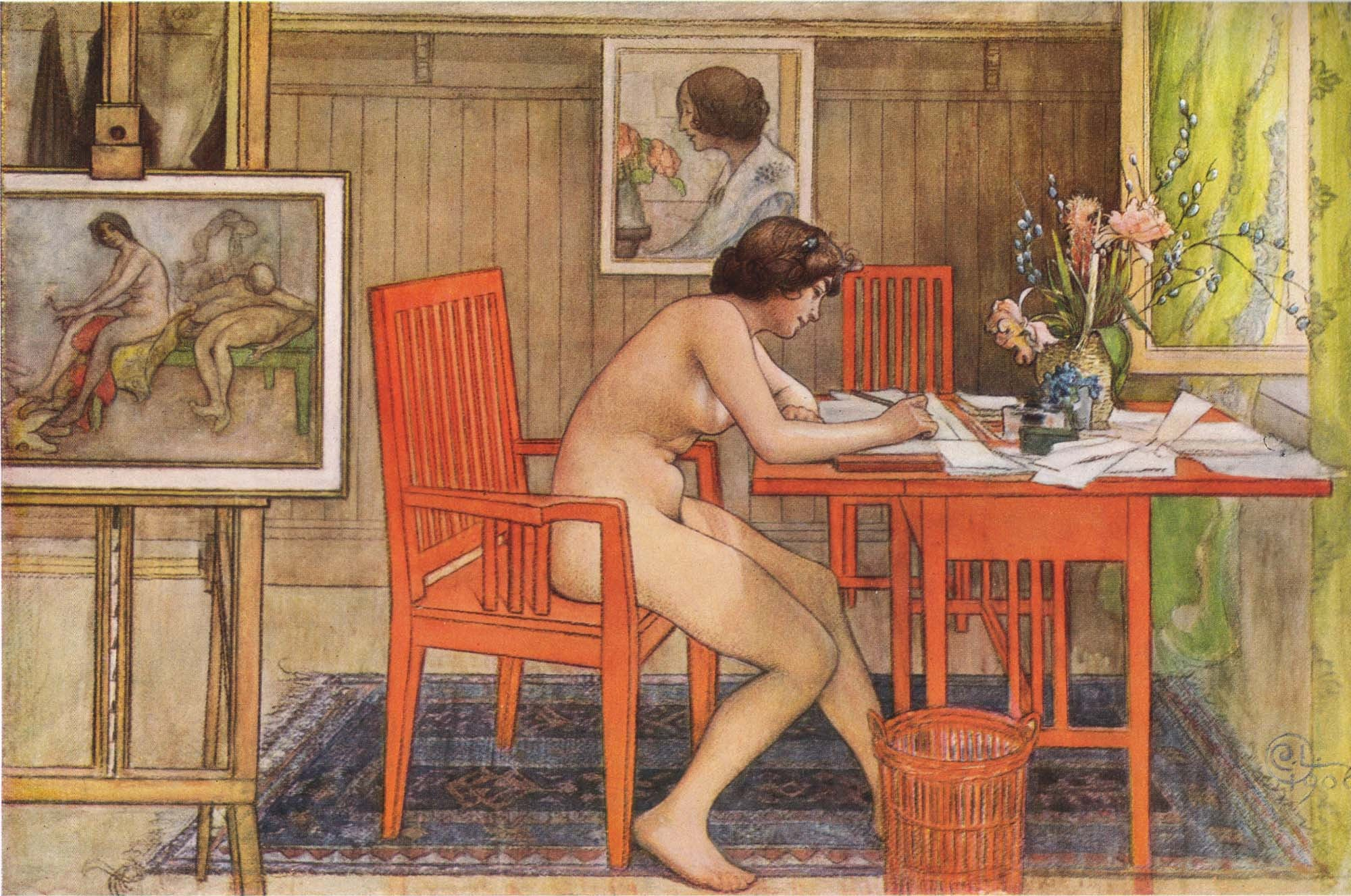 Carl Larsson | Buy Posters, Frames, Canvas, Digital Art & Large Size Prints Of The Famous Modern Master's Artworks