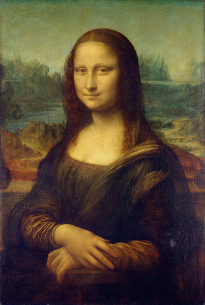 Artwork of Mona Lisa - (Monna Lisa) by Leonardo da Vinci
