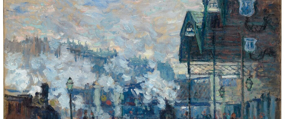 Claude Monet - Gare Saint-Lazare by Claude Monet | Buy Posters, Frames, Canvas  & Digital Art Prints