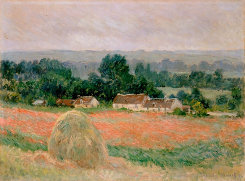 Haystack at Giverny (Meules Giverny) - Claude Monet