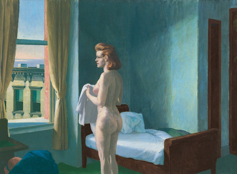 Morning In The City by Edward Hopper