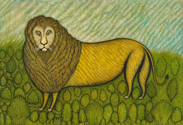 Morris Hirshfield - Lion - Art Prints