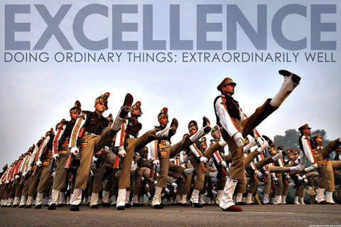 Motivational Quote: EXCELLENCE by Sherly David