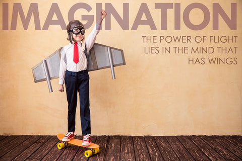 Motivational Quote: IMAGINATION - Posters by Sherly David