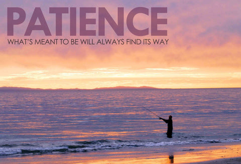 Motivational Quote: PATIENCE by Sherly David