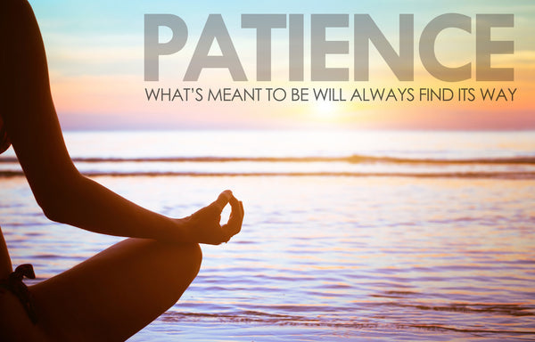 Motivational Quote: PATIENCE - Framed Prints
