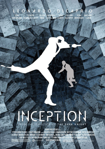 Movie Poster - Inception - Hollywood Collection