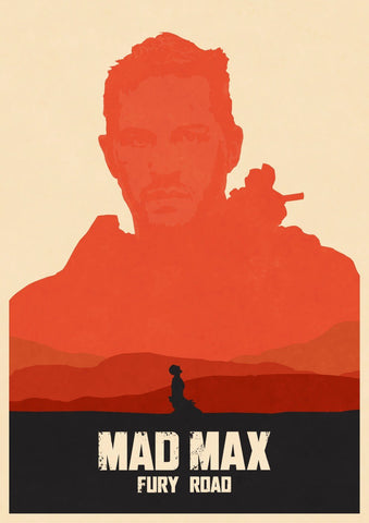 Tallenge Hollywood Collection - Movie Poster - Mad Max Fury Road