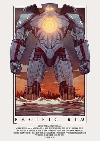 Tallenge Hollywood Collection - Movie Poster - Pacific Rim