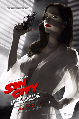 Movie Poster - Sin City 2- A Dame To Die For - Hollywood Collection - Art Prints