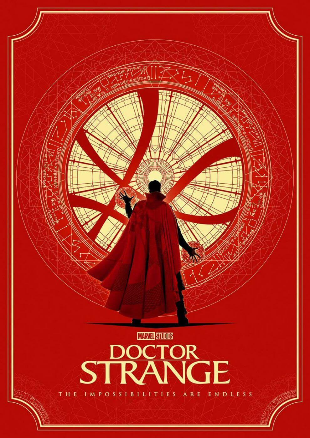 Movie Poster Fan Art Doctor Strange Tallenge Hollywood Superhero Poster Collection Art Prints By Tim Buy Posters Frames Canvas Digital Art Prints Small Compact Medium And Large Variants