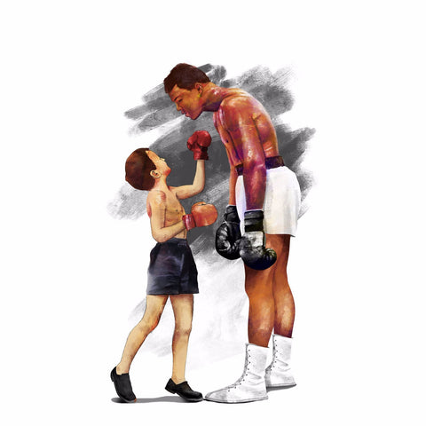 Muhammad Ali - Everyones Favorite Sport - Art Prints