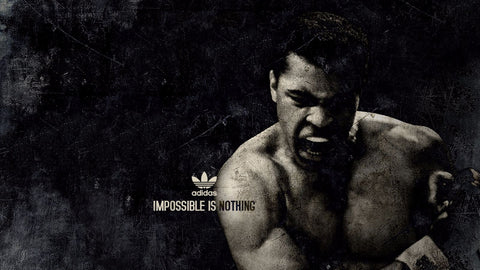 Muhammad Ali - Impossible Is Nothing - Adidas