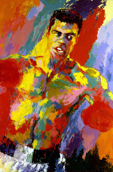 Muhammad Ali - Oil Painting - Canvas Prints