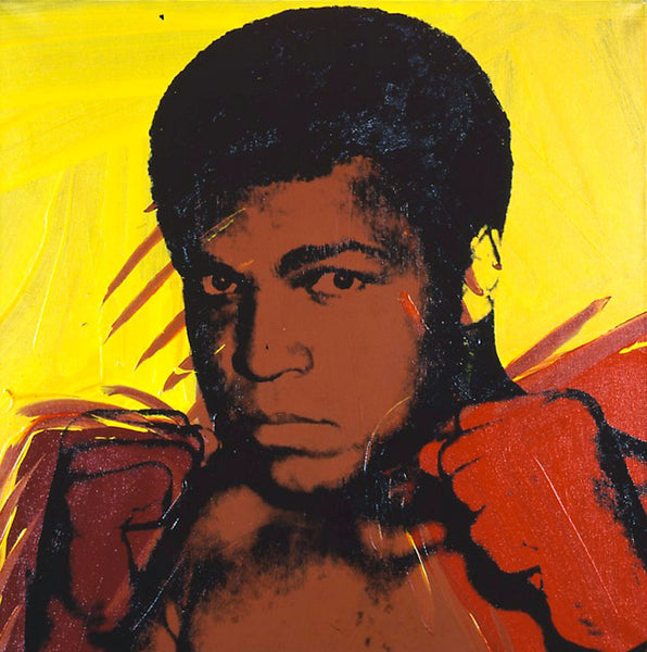 Muhammad Ali Serigraph And Screen Prints #1 by Andy Warhol - Canvas Prints
