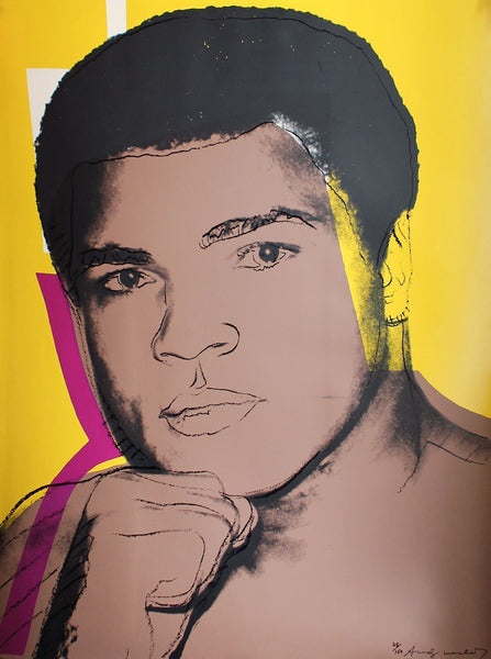 Muhammad Ali Serigraph And Screen Prints #2 by Andy Warhol - Canvas Prints