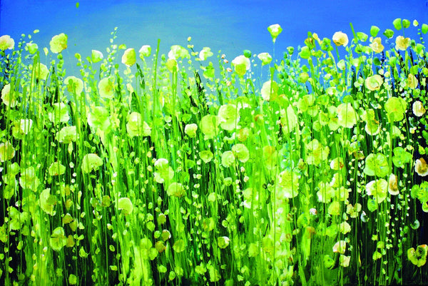 Mustard Field - Canvas Prints