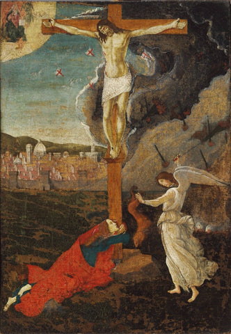 Mystic Crucifixion - Life Size Posters