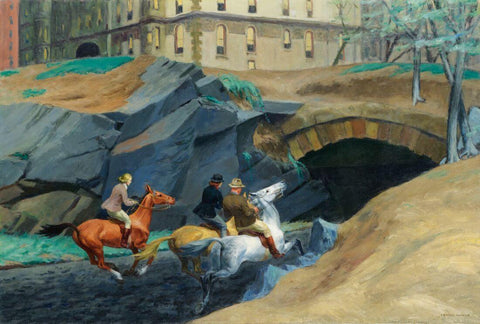 Bridle Path, 1939 - Edward Hopper by Edward Hopper
