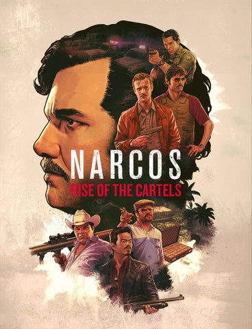 Narcos - Escobar - Rise Of The Cartels - Netflix TV Show Poster Fan Art by Tallenge Store