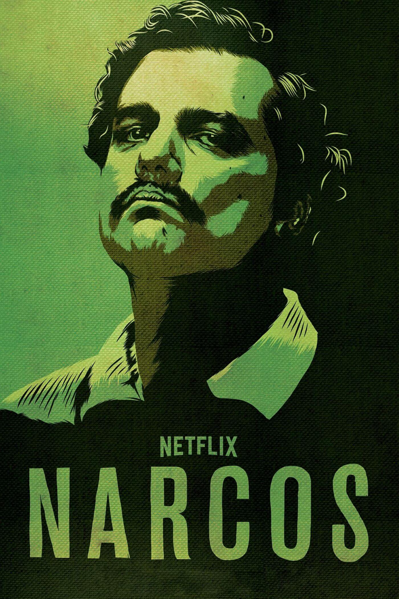 Narcos - Pablo Escobar - Netflix TV Show Poster Fan Art