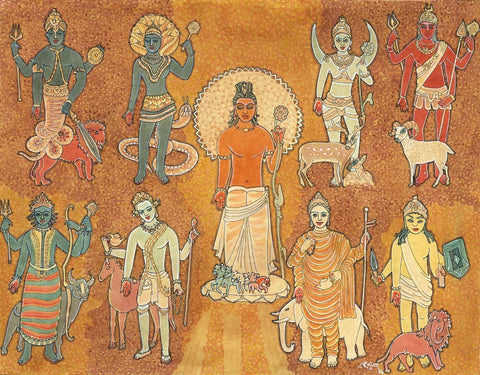 Navagraha - The Nine Astrological Planets - S Rajam