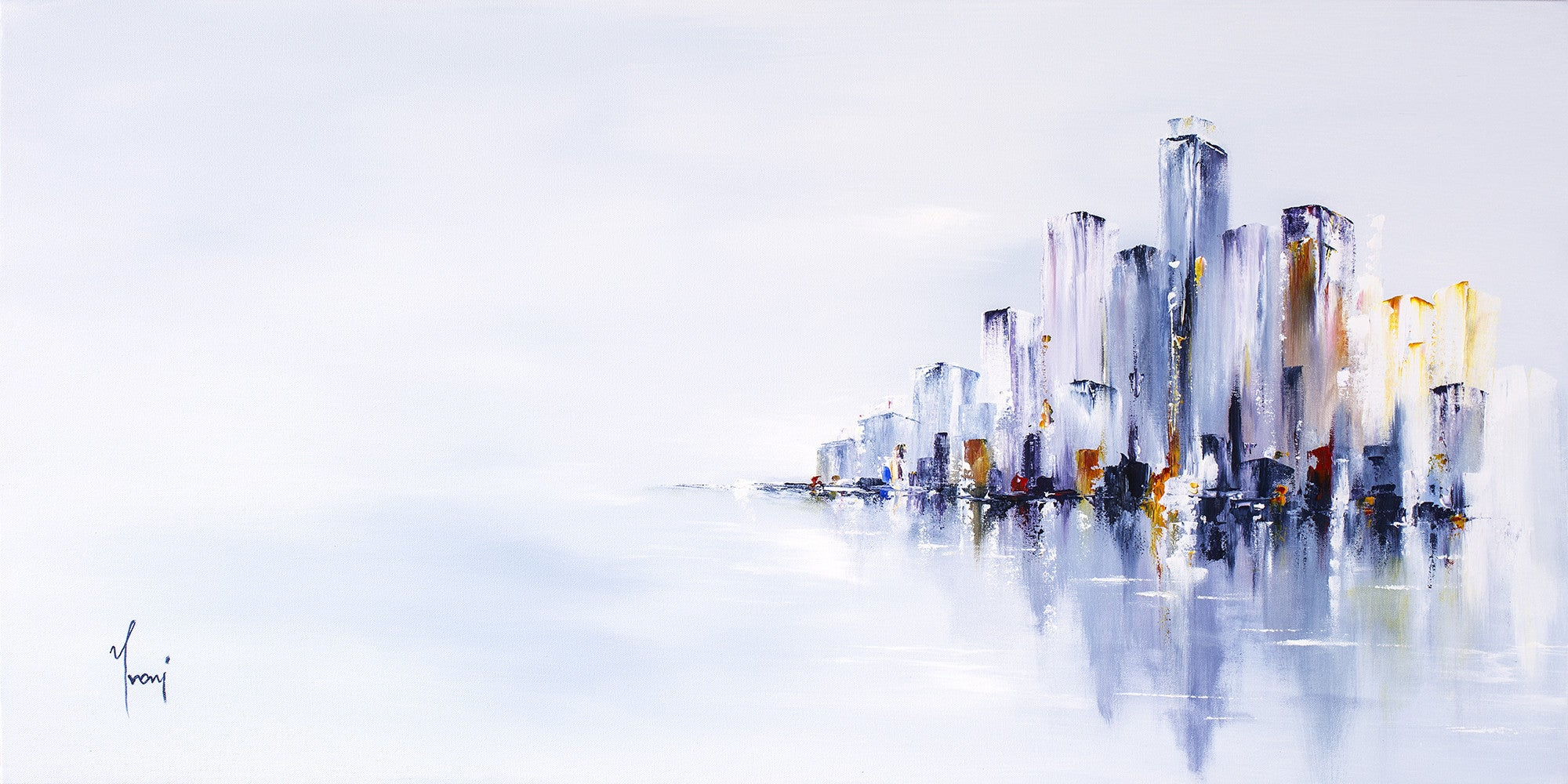 New York Cityscape - Canvas Prints by Sina Irani | Buy Posters ...