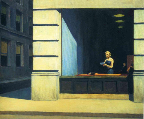 New York Office - Edward Hopper by Edward Hopper