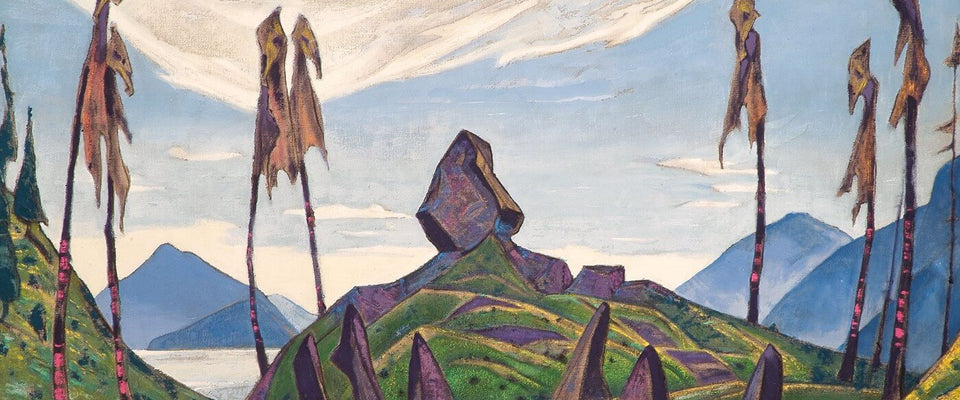 Shrine of Dreams by Nicholas Roerich | Buy Posters, Frames, Canvas  & Digital Art Prints