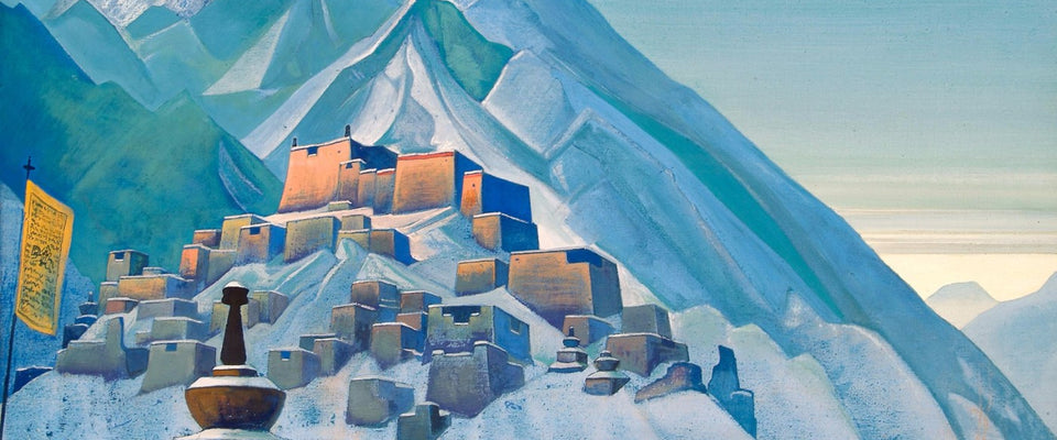 Tibet by Nicholas Roerich | Buy Posters, Frames, Canvas  & Digital Art Prints
