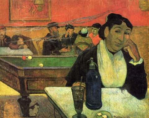 Night Café At Arles - Life Size Posters