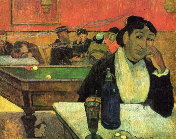 Night Café At Arles - Art Prints
