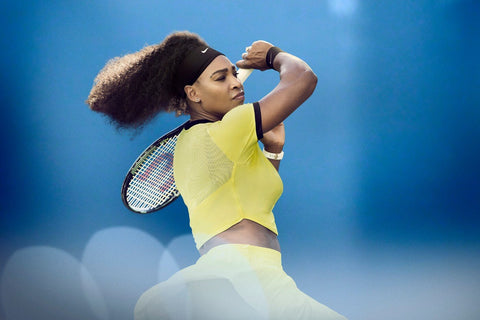 Spirit Of Sports - Legend Of Tennis - Serena Williams by Christopher Noel