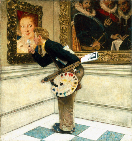 Art Critic - Posters by Norman Rockwell