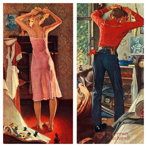 Before The Date - Posters by Norman Rockwell