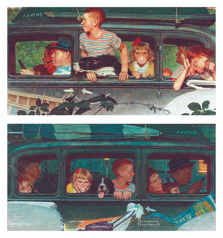 Coming And Going - Posters by Norman Rockwell