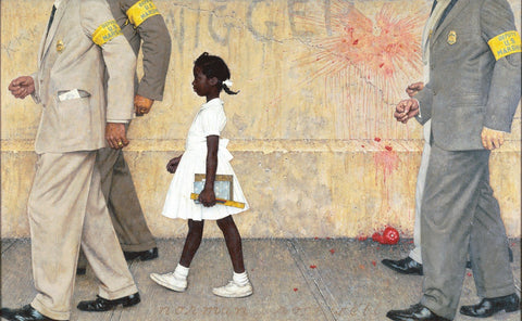 The Problem We All Live With - Posters by Norman Rockwell