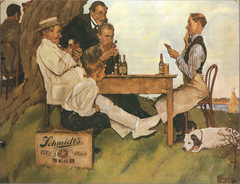 Schmidts City Club Beer - Posters by Norman Rockwell