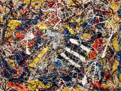 Number 17A  - Jackson Pollock