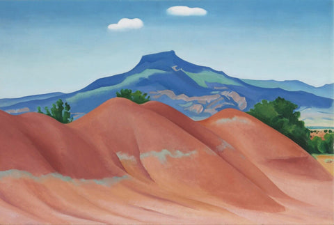 Red Hills - Georgia OKeeffe