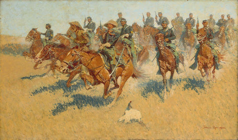 On The Southern Plains - Frederic Remington